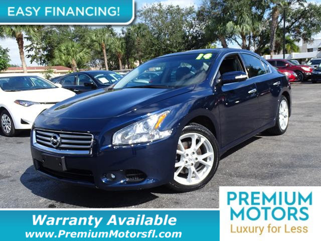 2014 NISSAN MAXIMA  LOADED CERTIFIED WE SAVE YOU THOUSANDS  Dont Pay Retail Get low monthly