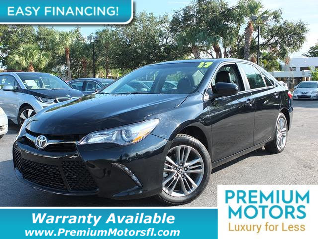 2017 TOYOTA CAMRY  BUY AND DRIVE WORRY FREE Own this CARFAX 1-Owner and Buyback Guarantee Qualifi