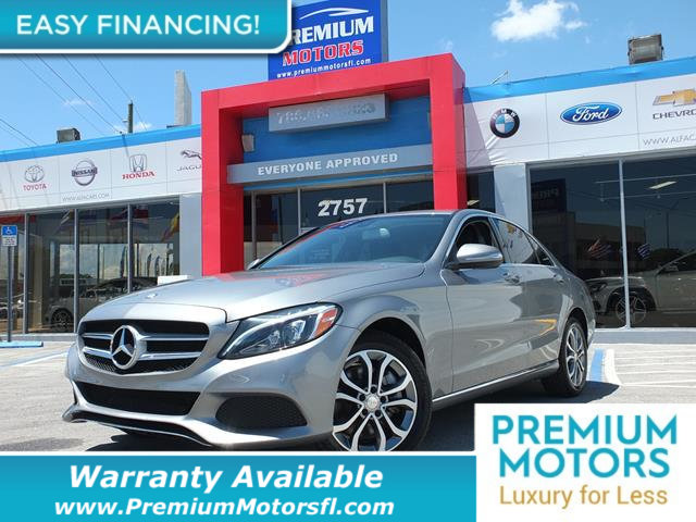 2015 MERCEDES C-CLASS 4DR SEDAN C 300 4MATIC LOADED CERTIFIED WARRANTY Dont Pay Retail Get lo