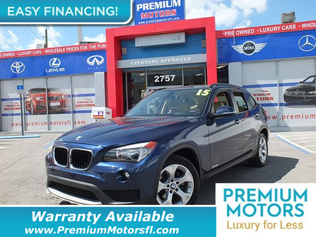 2015 BMW X1 SDRIVE28I LOADED CERTIFIED WE SAVE YOU THOUSANDS Fully serviced just sign and driv