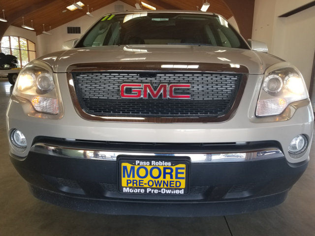 2011 GMC ACADIA LOW MILESPOWER LIFTGATEHEATE BUY WITH CONFIDENCE CARFAX Buyback Guarantee qual