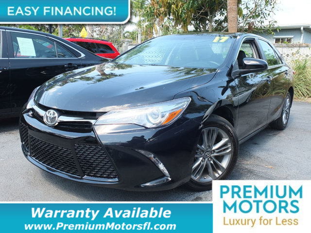 2017 TOYOTA CAMRY SE AUTOMATIC LOADED CERTIFIED MINT CONDITION and 1000s Below Retail Get low