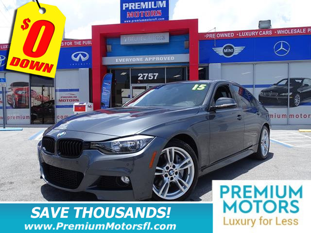 2015 BMW 3 SERIES 328I MERCEDES FOR LESS SAVE THOUSANDS At Premium Motors w