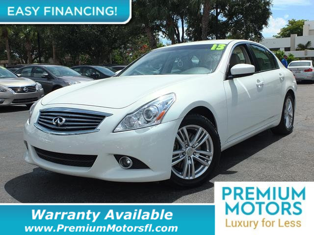 2013 INFINITI G37 SEDAN 4DR JOURNEY RWD LOADED CERTIFIED WARRANTY Dont Pay Retail Get low mon