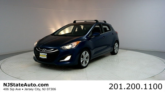 2013 HYUNDAI ELANTRA GT 5DR HATCHBACK AUTOMATIC CARFAX CERTIFIED 1-OWNER WITH SERVICE RECORDS