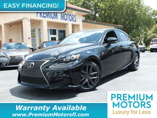 2014 LEXUS IS 250 4DR SPORT SEDAN AUTOMATIC RWD LOADED CERTIFIED WE SAVE YOU THOUSANDS Dont Pa