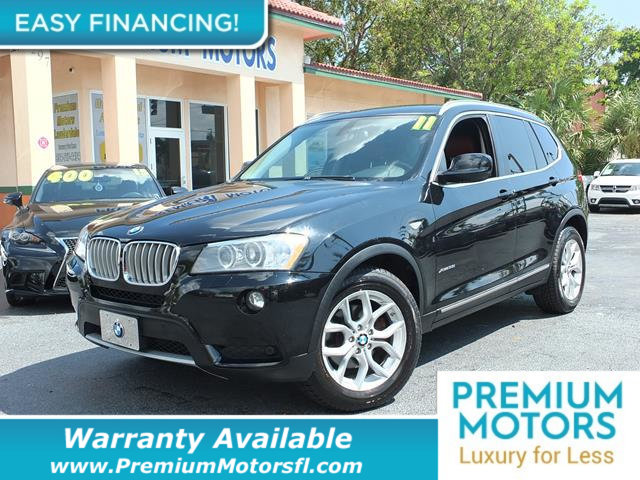 2011 BMW X3 35I LOADED CERTIFIED WARRANTY Dont Pay Retail Get low monthly payments on this ve