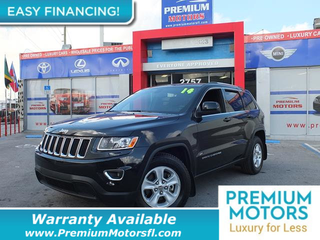 2014 JEEP GRAND CHEROKEE  LOADED CERTIFIED WE SAVE YOU THOUSANDS Fully serviced just sign and