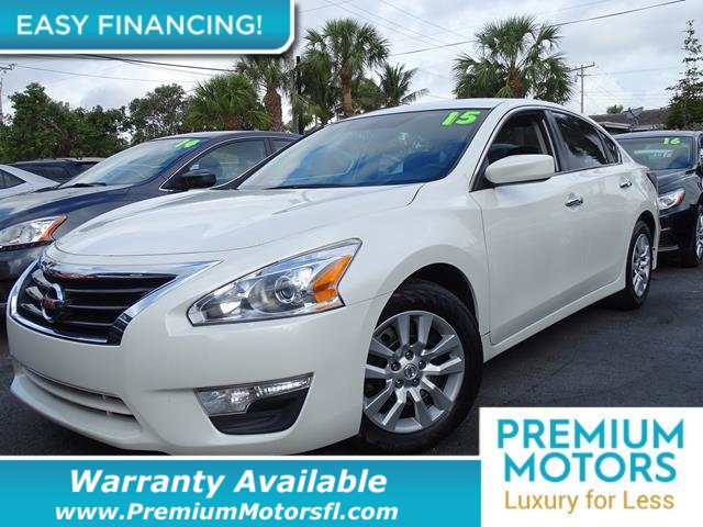 2015 NISSAN ALTIMA  LOADED CERTIFIED WE SAVE YOU THOUSANDS  Dont Pay Retail Get low monthly