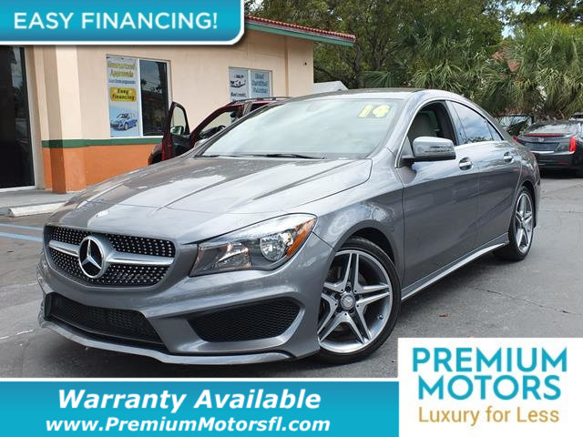 2014 MERCEDES CLA 4DR SEDAN CLA 250 FWD LOADED CERTIFIED MINT CONDITION and 1000s Below Retail