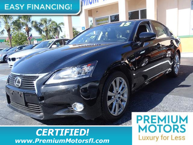 2015 LEXUS GS 350 4DR SEDAN AWD LOADED CERTIFIED MINT CONDITION 1000s Below Retail Get l