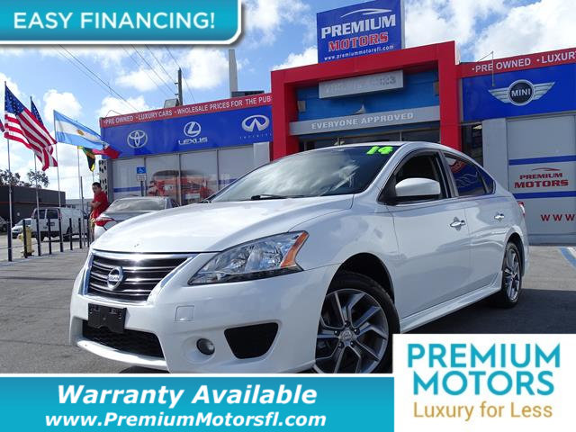 2014 NISSAN SENTRA  LOADED CERTIFIED WE SAVE YOU THOUSANDS Fully serviced just sign and drive