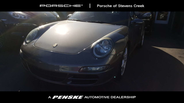 2008 PORSCHE 911 2DR CABRIOLET CARRERA S 6spd So few miles means its like new Be the talk of th