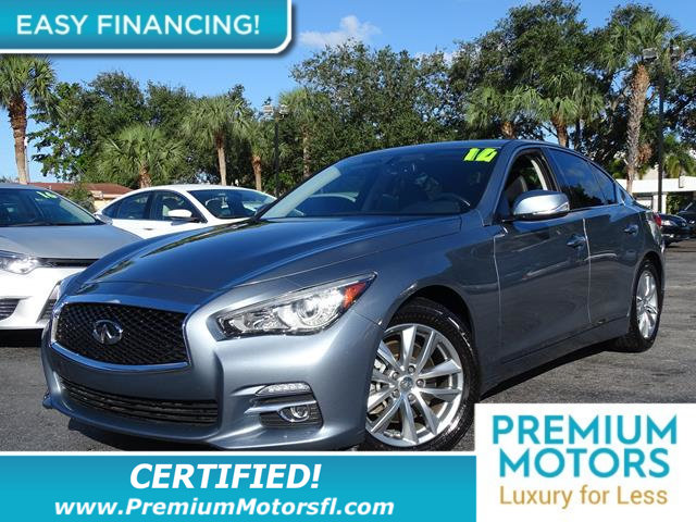 2014 INFINITI Q50 4DR SEDAN RWD LOADED CERTIFIED WE SAVE YOU THOUSANDS Fully serviced just sig
