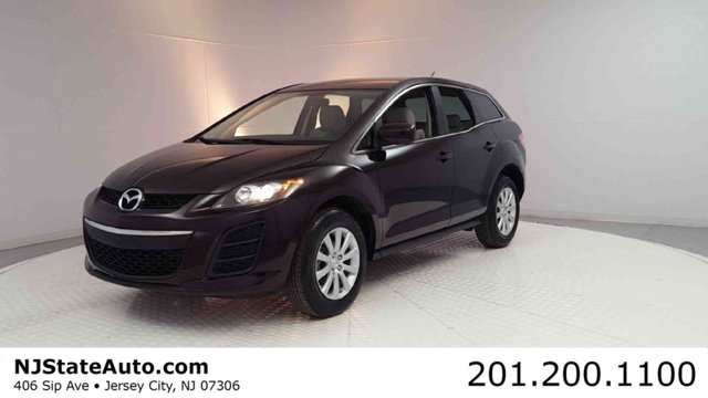 2010 MAZDA CX-7 FWD 4DR I SV CARFAX One-Owner Black Cherry Mica 2010 Mazda CX-7 i SV FWD 5-Speed