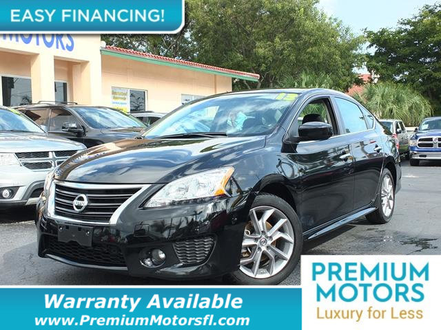 2013 NISSAN SENTRA 4DR SEDAN I4 CVT SR LOADED CERTIFIED WARRANTY Dont Pay Retail Get low mont
