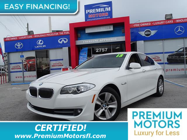 2012 BMW 5 SERIES 528I HUGE SALE SAVE THOUSANDS At Premium Motors we have relationships with ba