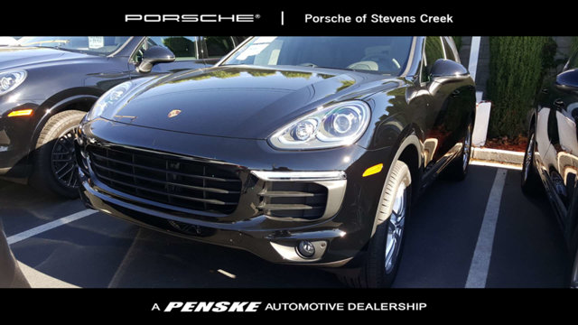 2018 PORSCHE CAYENNE AWD LOADED WITH VALUE Comes equipped with Black Black Partial Leather Sea