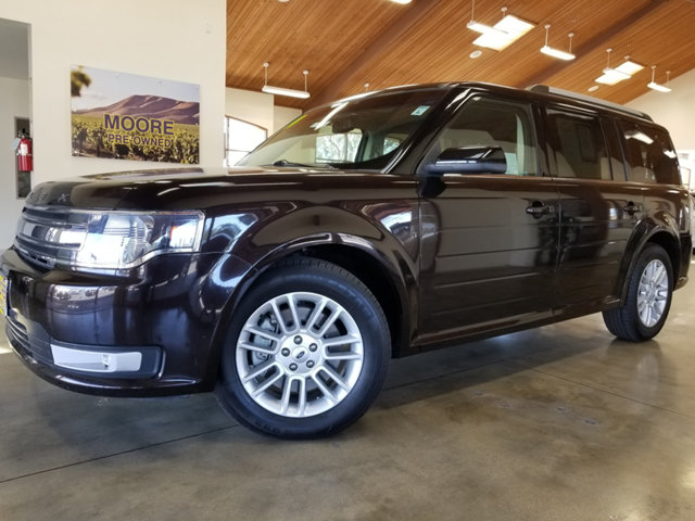 2014 FORD FLEX THIRD ROW SEATINGHEATED LEAT REST EASY With its Buyback Qualified CARFAX repor