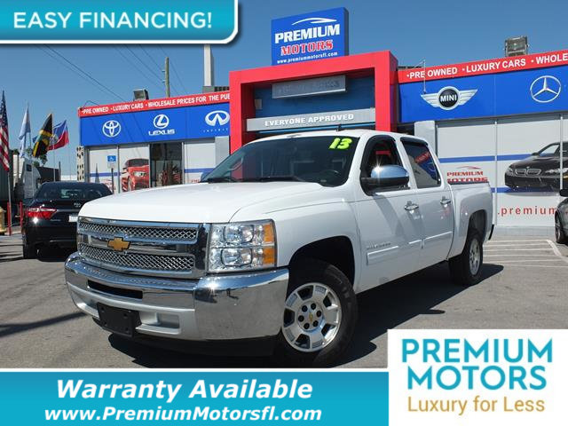 2013 CHEVROLET SILVERADO 1500 2WD CREW CAB 1435 LT LOADED CERTIFIED WE SAVE YOU THOUSANDS Ful