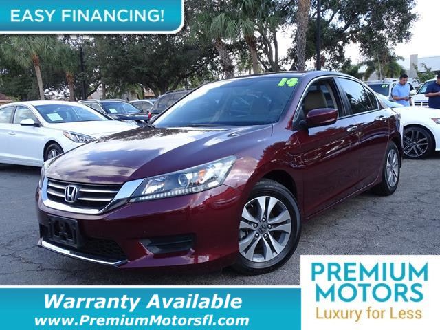 2014 HONDA ACCORD SEDAN 4DR I4 CVT LX LOADED CERTIFIED WARRANTY Dont Pay Retail Get low month