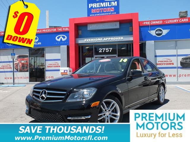 2014 MERCEDES C-CLASS 4DR SEDAN C 250 SPORT RWD MERCEDES FOR LESS LOADED At