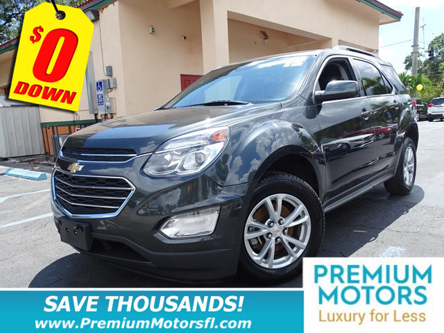 2017 CHEVROLET EQUINOX FWD 4DR LT W1LT CHEVY FOR LESS FACTORY WARRANTY At Premium Motors