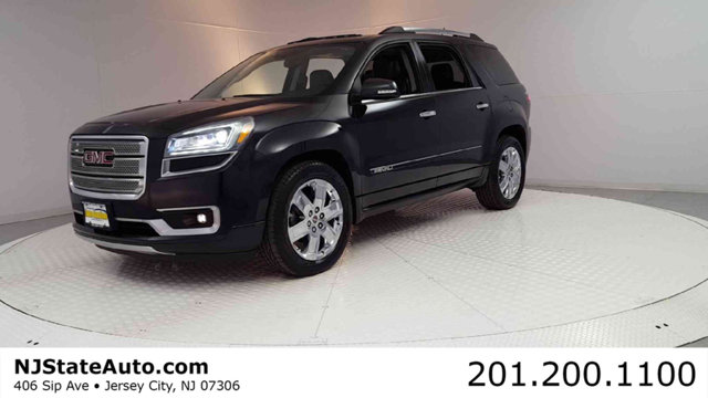 2013 GMC ACADIA AWD 4DR DENALI CARFAX One-Owner Clean CARFAX Carbon Black Metallic 2013 GMC Acad