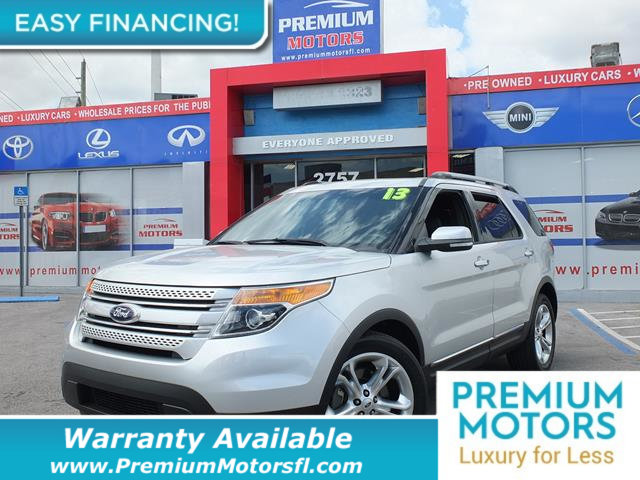 2013 FORD EXPLORER FWD 4DR LIMITED LOADED CERTIFIED WE SAVE YOU THOUSANDS Fully serviced just