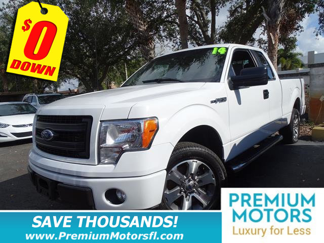 2014 FORD F-150 2WD SUPERCAB 145 FX2 LOADED SAVE THOUSANDS At Premium Motors we have rela
