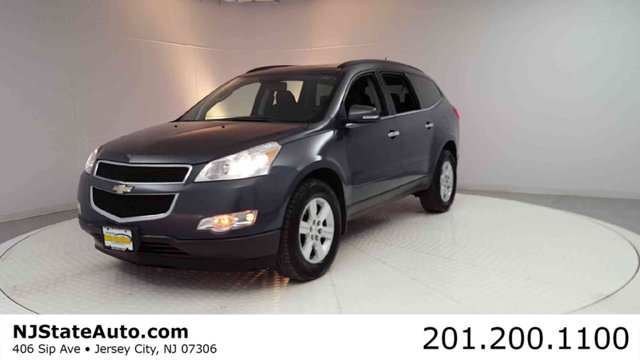 2010 CHEVROLET TRAVERSE AWD 4DR LT W1LT CARFAX One-Owner Clean CARFAX Cyber Gray Metallic 2010