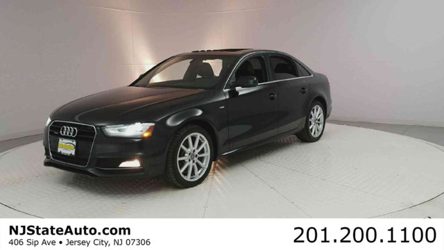 2014 AUDI A4 4DR SEDAN AUTOMATIC QUATTRO 20T Brilliant Black 2014 Audi A4 20T Premium Plus quatt