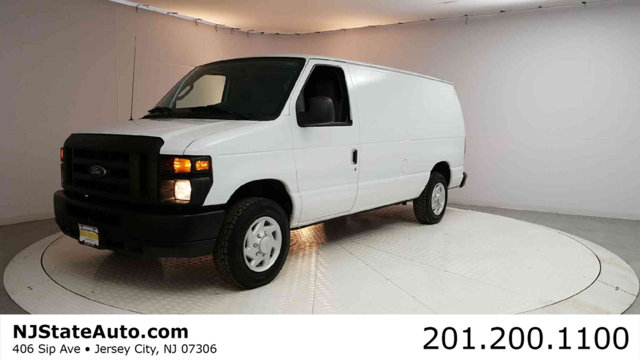 2009 FORD ECONOLINE CARGO VAN E-150 COMMERCIAL Clean CARFAX Oxford White 2009 Ford E-150 Commerci