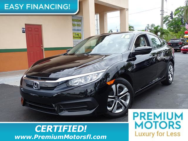 2016 HONDA CIVIC SEDAN 4DR CVT LX LOADED CERTIFIED MINT CONDITION 1000s Below Retail Get