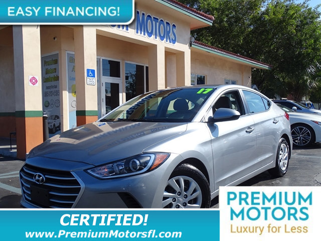 2017 HYUNDAI ELANTRA  LOADED WITH VALUE This Hyundai Elantra comes equipped with Clock Tachomet