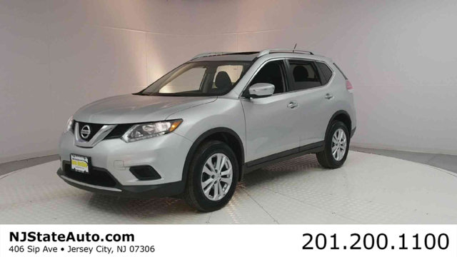 2015 NISSAN ROGUE AWD 4DR SV CARFAX One-Owner Clean CARFAX Brilliant Silver 2015 Nissan Rogue SV