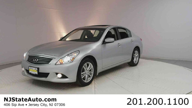 2013 INFINITI G37 SEDAN 4DR X AWD CARFAX One-Owner Clean CARFAX Liquid Platinum 2013 INFINITI G3