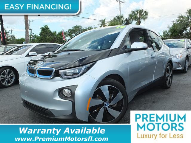 2014 BMW I3 HATCHBACK WRANGE EXTENDER LOADED CERTIFIED WE SAVE YOU THOUSANDS Dont Pay Retail