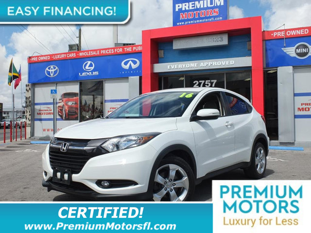 2016 HONDA HR-V 2WD 4DR CVT EX LOADED CERTIFIED MINT CONDITION and 1000s Below Retail Get low