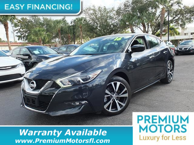 2016 NISSAN MAXIMA  LOADED CERTIFIED WE SAVE YOU THOUSANDS  Dont Pay Retail Get low monthly