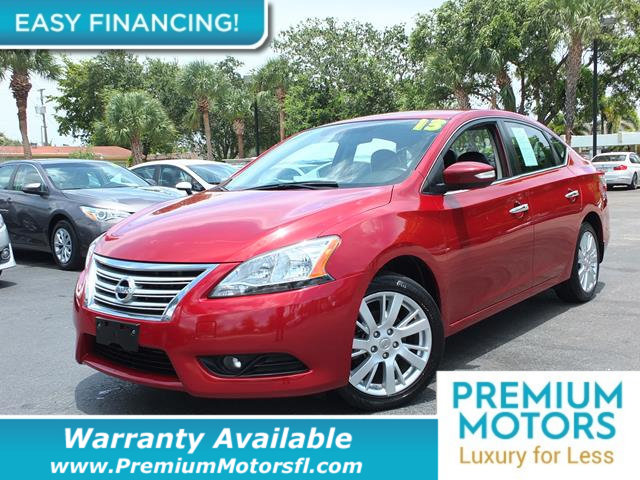 2013 NISSAN SENTRA 4DR AUTO SL LOADED CERTIFIED WARRANTY Dont Pay Retail Get low monthly paym