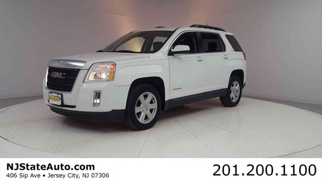 2014 GMC TERRAIN AWD 4DR SLE WSLE-2 CARFAX One-Owner Clean CARFAX Summit White 2014 GMC Terrain