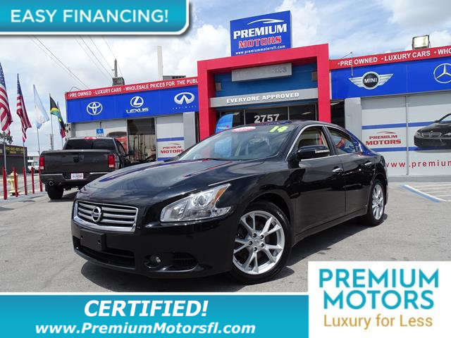 2014 NISSAN MAXIMA 4DR SEDAN 35 S LOADED CERTIFIED WE SAVE YOU THOUSANDS Fully serviced