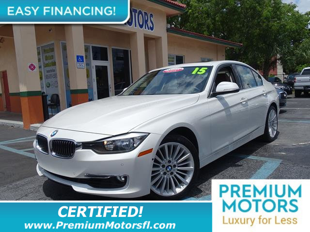 2015 BMW 3 SERIES 328I REST EASY With its 1-Owner  Buyback Qualified CARFAX report you can rest