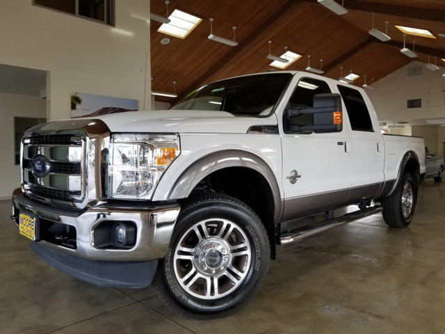 2013 FORD SUPER DUTY F-250 SRW LOW MILESTURBO DIESELLEATH REST EASY With its Buyback Qualif