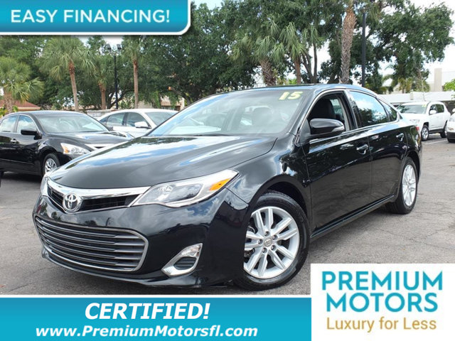 2015 TOYOTA AVALON 4DR SEDAN XLE LOADED CERTIFIED WE SAVE YOU THOUSANDS Fully serviced just si