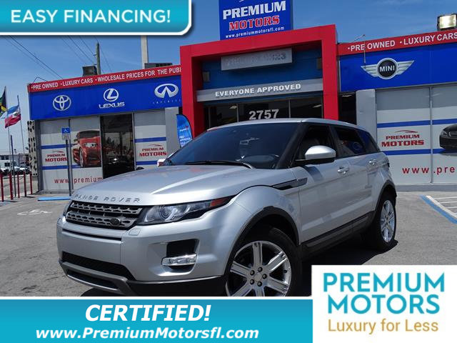 2014 LAND ROVER RANGE ROVER EVOQUE 5DR HATCHBACK PURE PLUS LOADED CERTIFIED WE SAVE YOU THOUSAND
