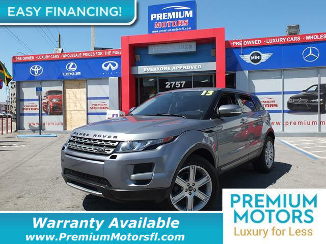 2013 LAND ROVER RANGE ROVER EVOQUE 5DR HATCHBACK PURE LOADED CERTIFIED WE SAVE YOU THOUSANDS Fu