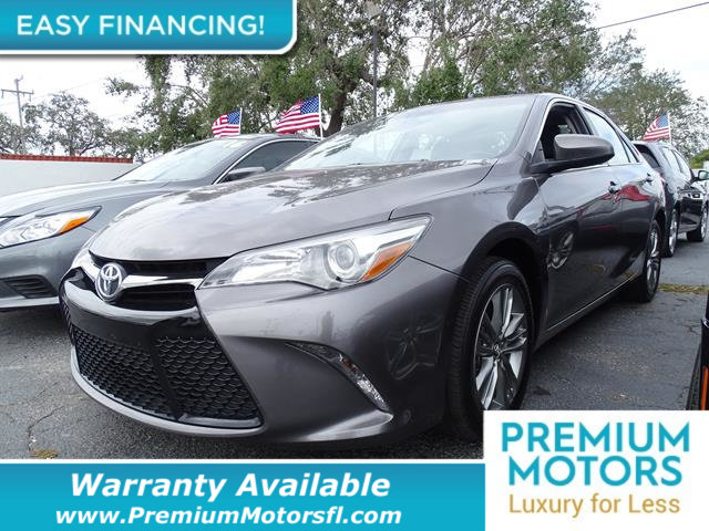 2016 TOYOTA CAMRY  LOADED CERTIFIED WE SAVE YOU THOUSANDS Dont Pay Retail Get low monthly pay
