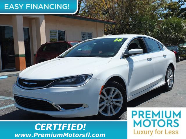 2016 CHRYSLER 200  LOADED CERTIFIED WE SAVE YOU THOUSANDS Fully serviced just sign and drive